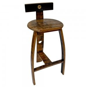 Siv Barrel Bar Stool Accessories Barware Maker S Mark Gift