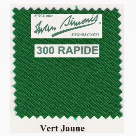 Kit tapis Simonis 300 B220 Vert Jaune - 225,00 €  #Jeux