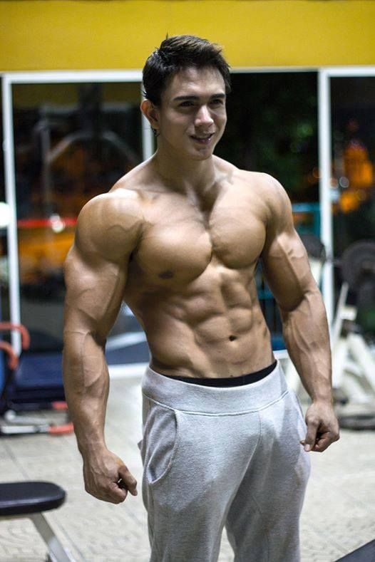 Fitness Right  Think About  Pinterest  Muscular Men -1746