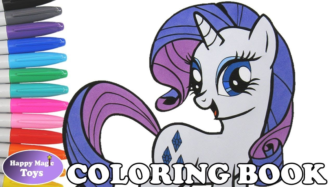 Rarity coloring page My Little Pony Friendship is Magic coloring ...