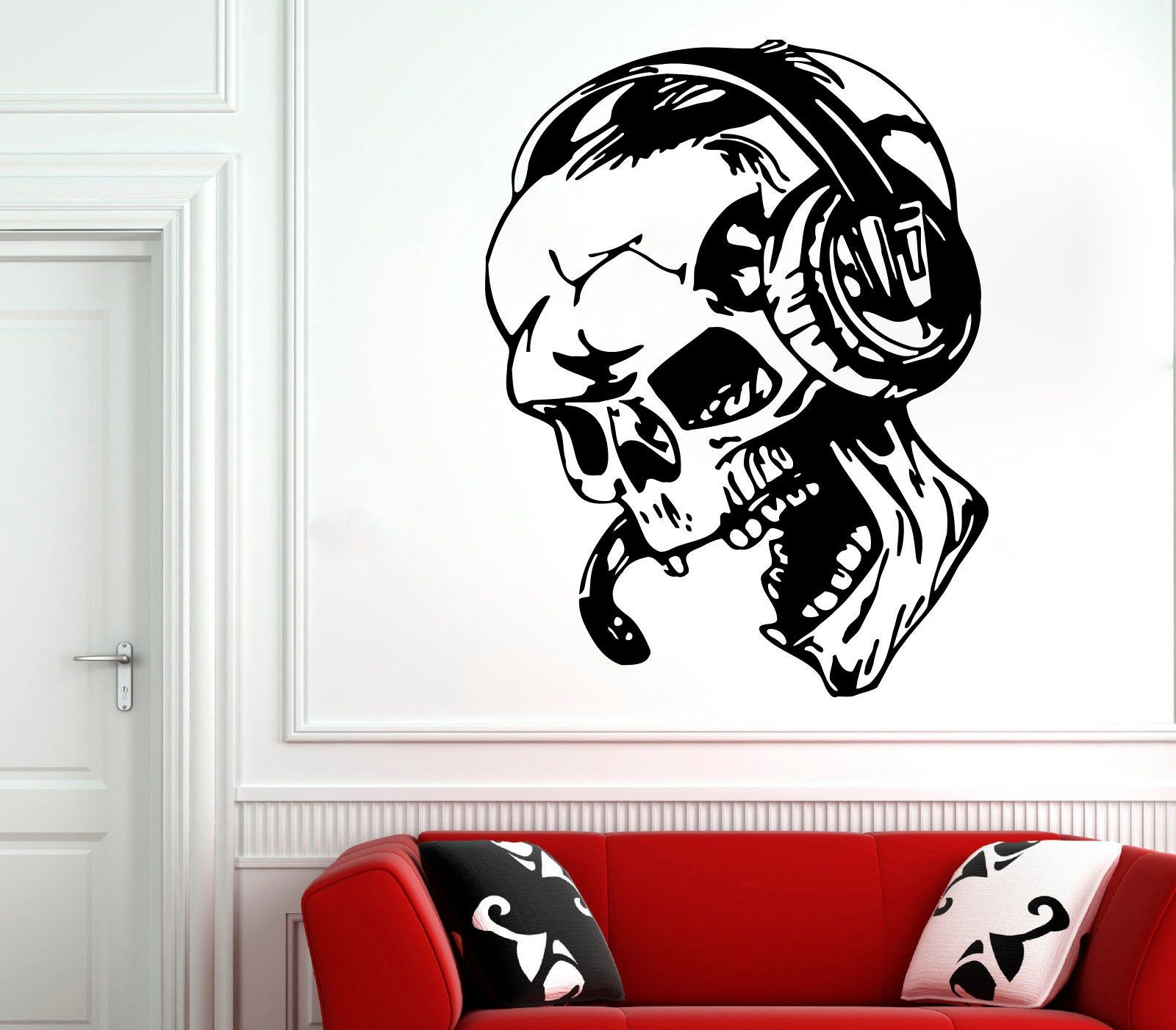 Gamer Wall Decal Gamer Decals Controller Decals Personalized Gamer Room z77