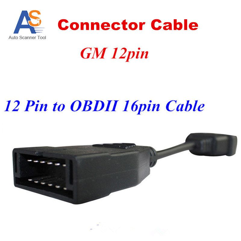 2017 New In Stock ! OBD 16pin for G-M 12pin Cable OBD1 with OBD2