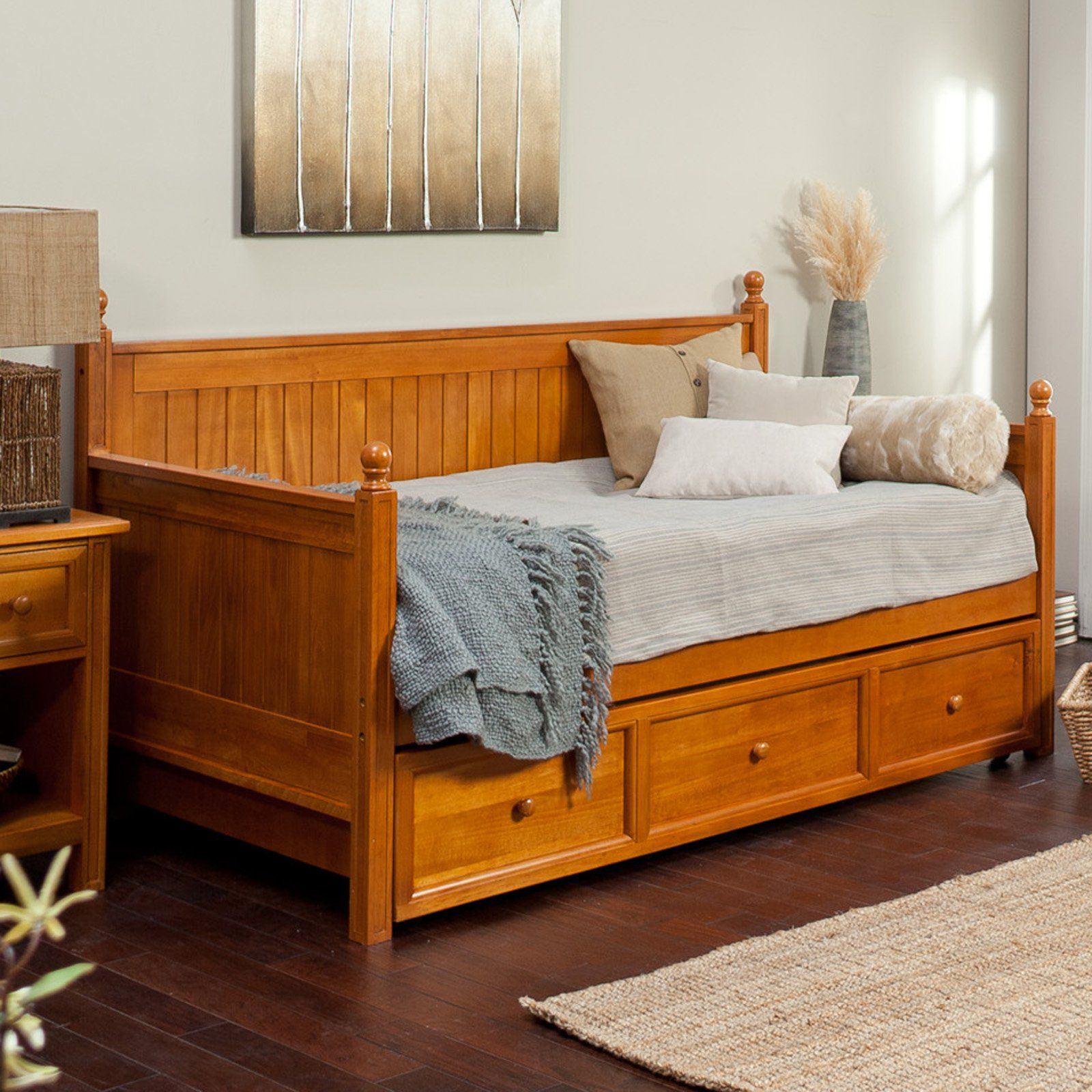 Have to have it. Belham Living Casey DaybedHoney Maple