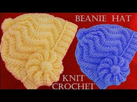 0c82890fd Como tejer gorro boina a Crochet o ganchillo en punto relieve - YouTube
