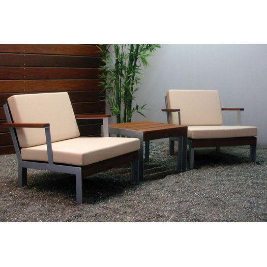 Modern Outdoor Etra Club Chair Allmodern