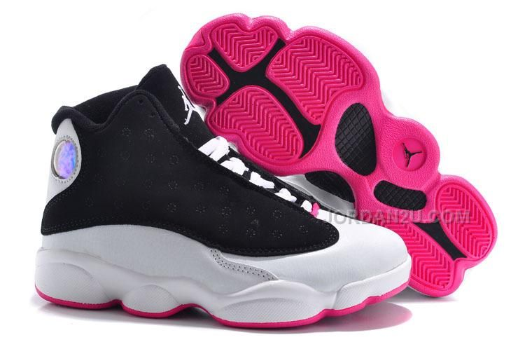 e0e241fcb213 Big Kids Jordan Shoes Kids Air Jordan 13 Black White Red  Kids Air Jordan 13  - Nike is really continuously making a lot of their little fans excited by  ...