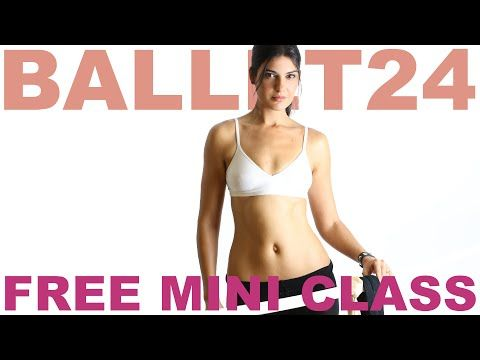 Ballet Workout: Cardio Barre Mini Class - YouTube #cardiobarre