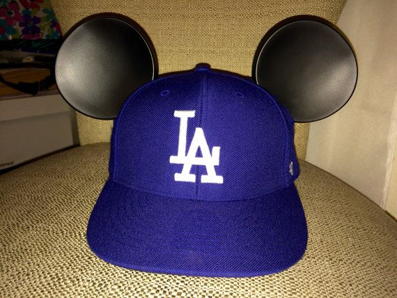 72ed00826dcc3 Mickey Mouse Ears Baseball Cap by HusbearTwins on Etsy