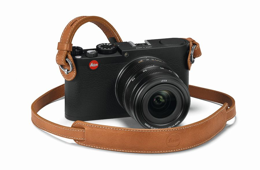 Leica Store Berlin: Leica Carrying Strap with protecting flap for M- und X- cameras, cognac : Details