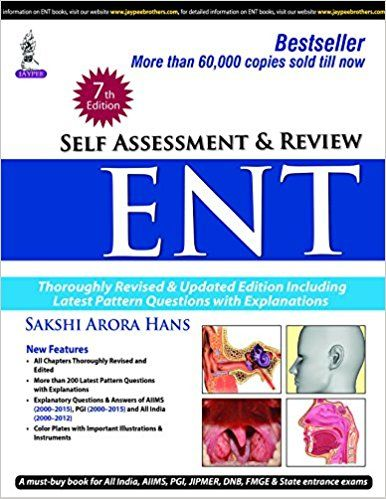 Self Assessment And Review Ent 7th Edition Pdf Objective Books