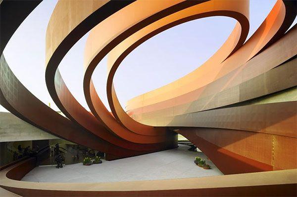 Design Museum Holon, Israel (designed by Ron Arad)