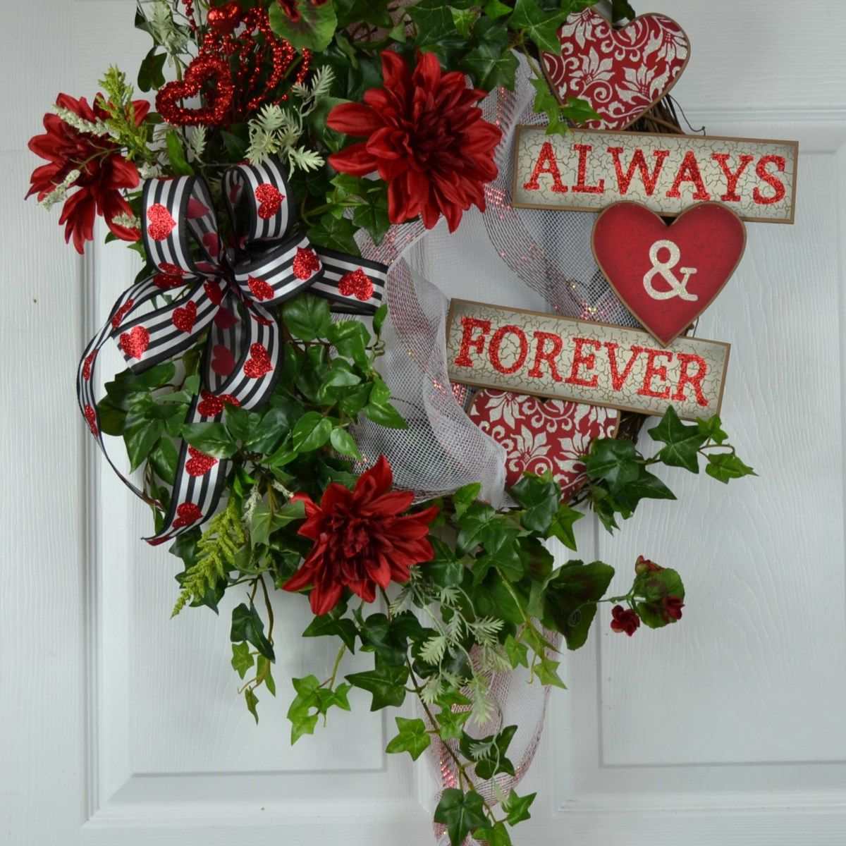 Valentines Day Wreath For Your Front Door Best Of Gaslight Floral