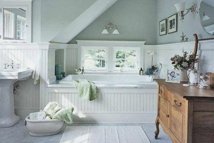 Badezimmer Landhaus Landliche Badezimmer Badezimmer Hutte