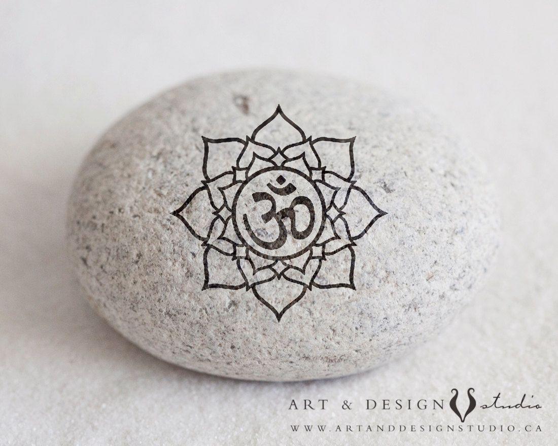 Spiritual Wall Art Meditation Print Lotus Flower Art Zen Namaste