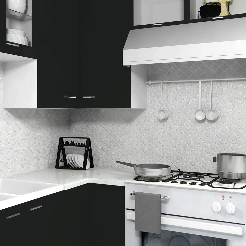 Small lantern or Moroccan shaped tiles for the backsplash Make up