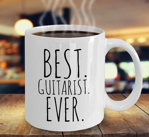 Best Guitarist Ever Mug Musician Gift Guitarist Gift Musician Gift Band Member Gift Songwriter Gift for Musicians Guitar Players #custodianappreciationgifts
