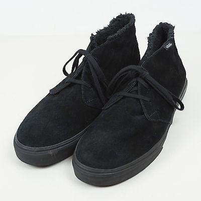 315f8862ff  Vans  Chukka Decon Mens Size 13 Black Suede Fleece Boots