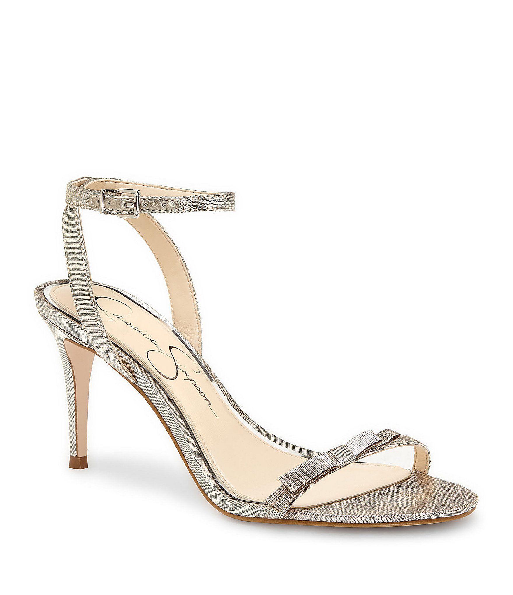 Jessica Simpson Purella Suede Ankle Strap Sandals dSOmH0bNjw