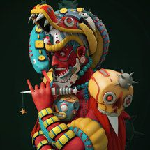 El folclore mexicano en 3D de Fer Aguilera Reyes