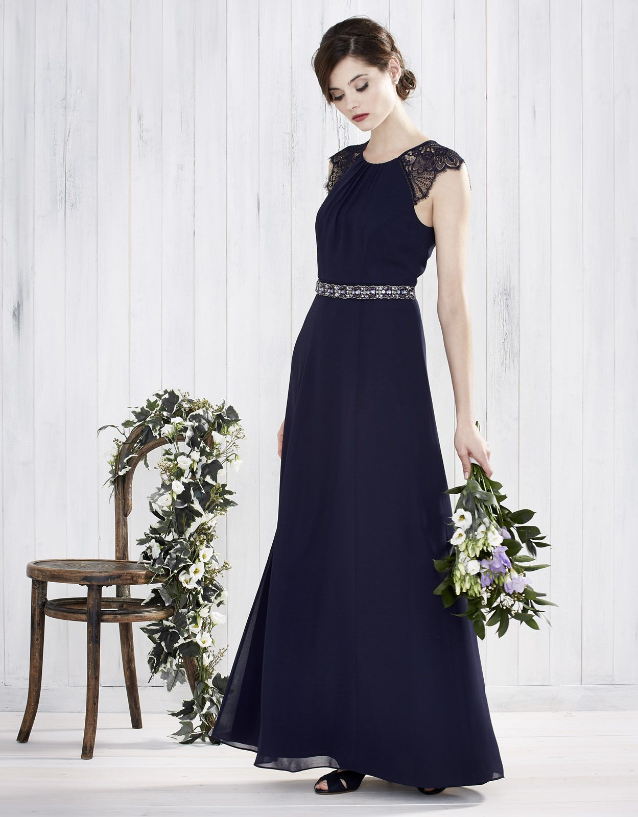 12ef52617e Monsoon Bridesmaids SS16 | Navy Bridesmaid Dress | High street Wedding  Fashion | http:/
