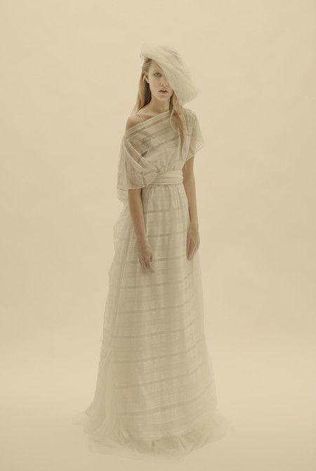 f2318e50d04 Cortana 'Hebe' lace sateen sash tunic over can-can style silk dress. # wedding