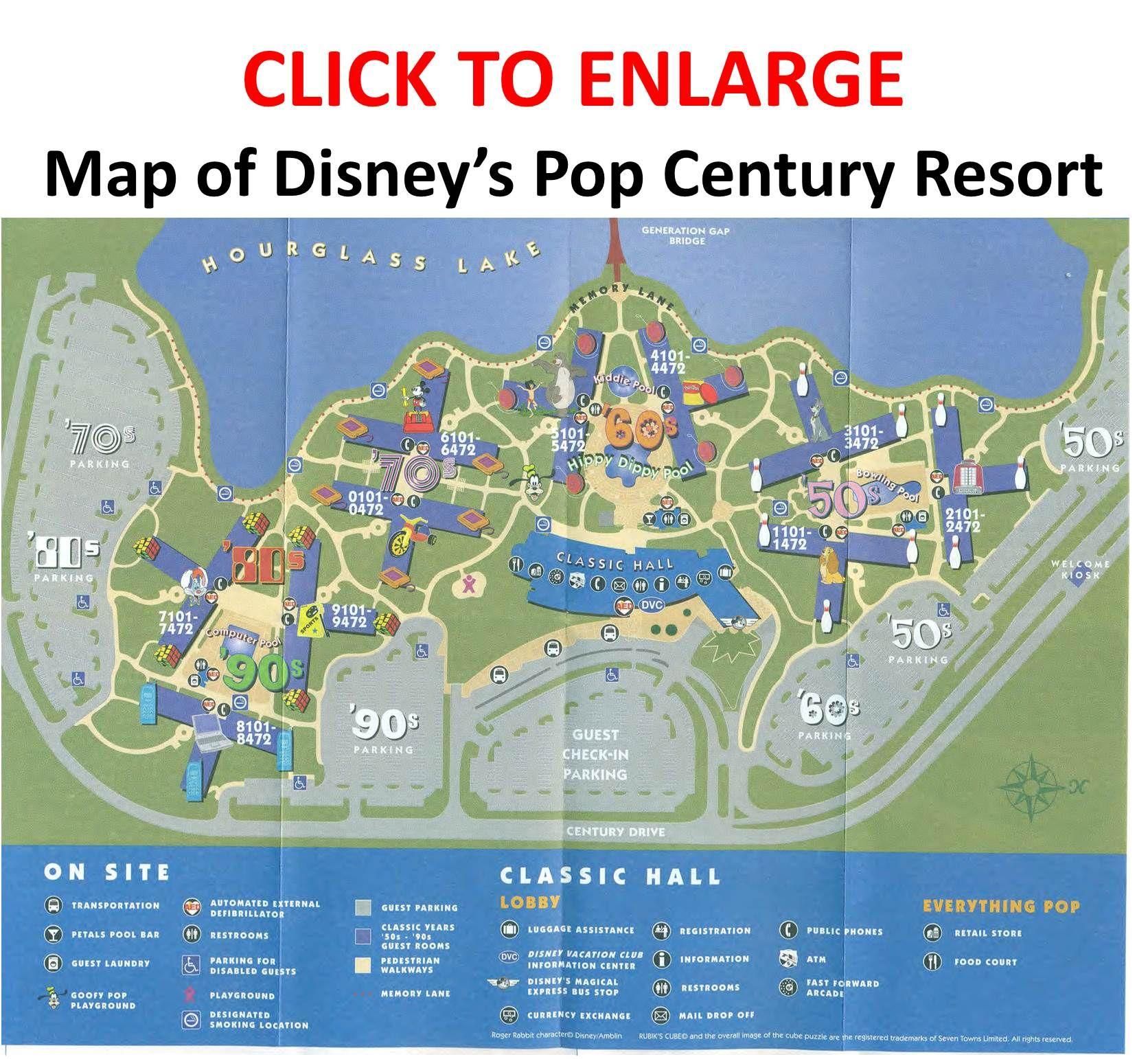 Review: Disney\'s Pop Century Resort | DISNEY!!!!! | Pinterest ...
