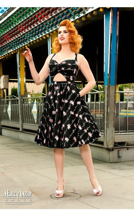 3d0a5c732f12da Pinup Couture- Renee Dress in Tipsy Elephant