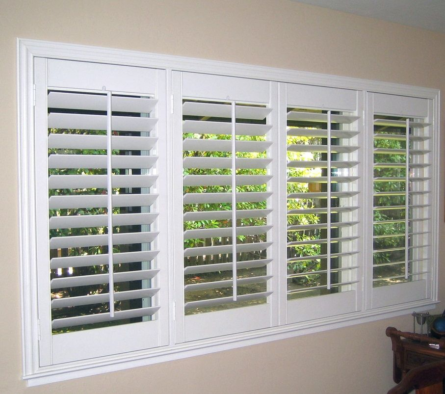 "Inside Mount 4.5"" (With images) Window shutters indoor"