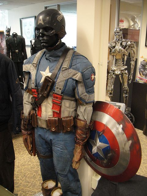 Captain America costume Prop