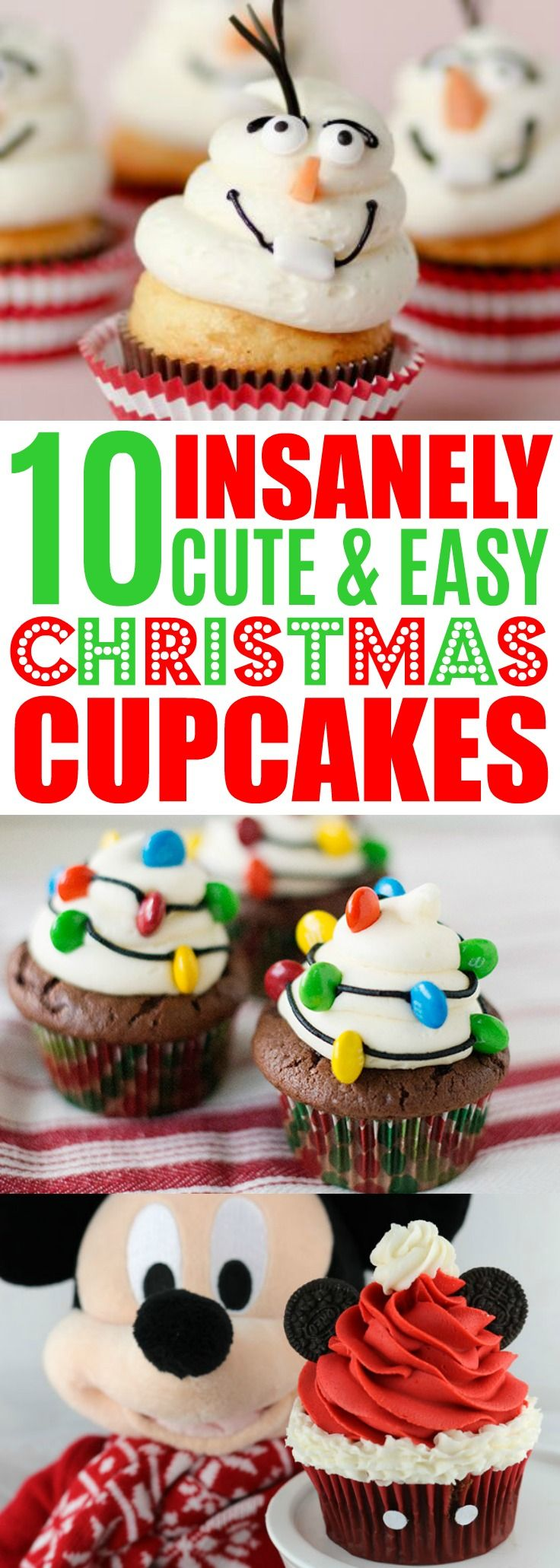 Fun Kid Approved Christmas Cupcake Ideas
