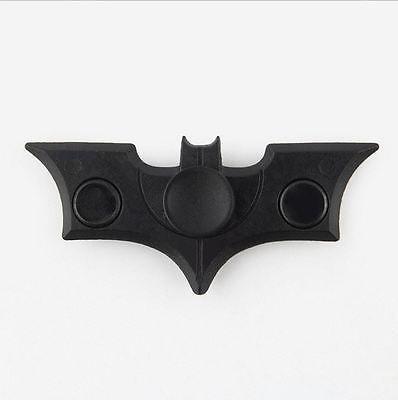 Alloy Bat Fidget Spinner Black Gold Vintage Hand