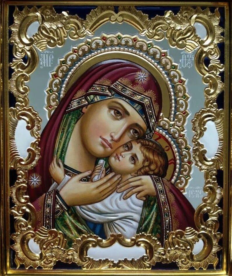 Касперовская Икона Божией Матери | Религиозные картины ...