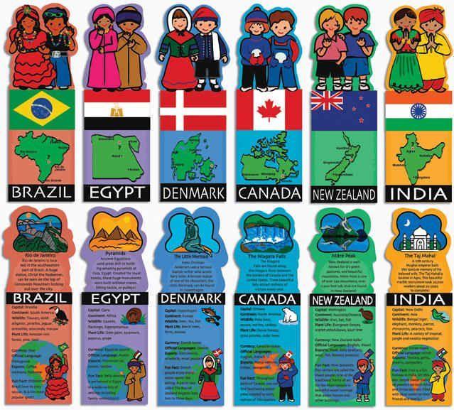 Kids Around The World Flashcards