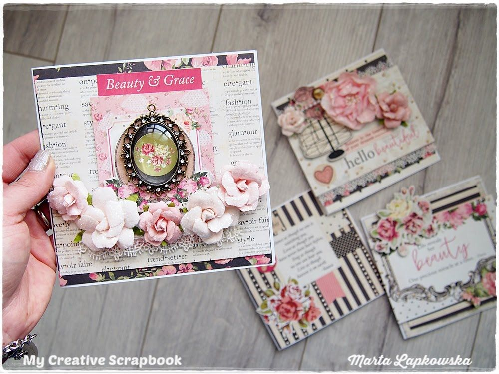 Romantic Shabby Chic Cards Tutorial For Beginners Cards