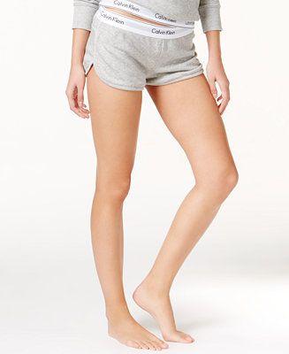 1140946d97 Calvin Klein Modern Cotton Lounge Shorts QS5717 - Bras