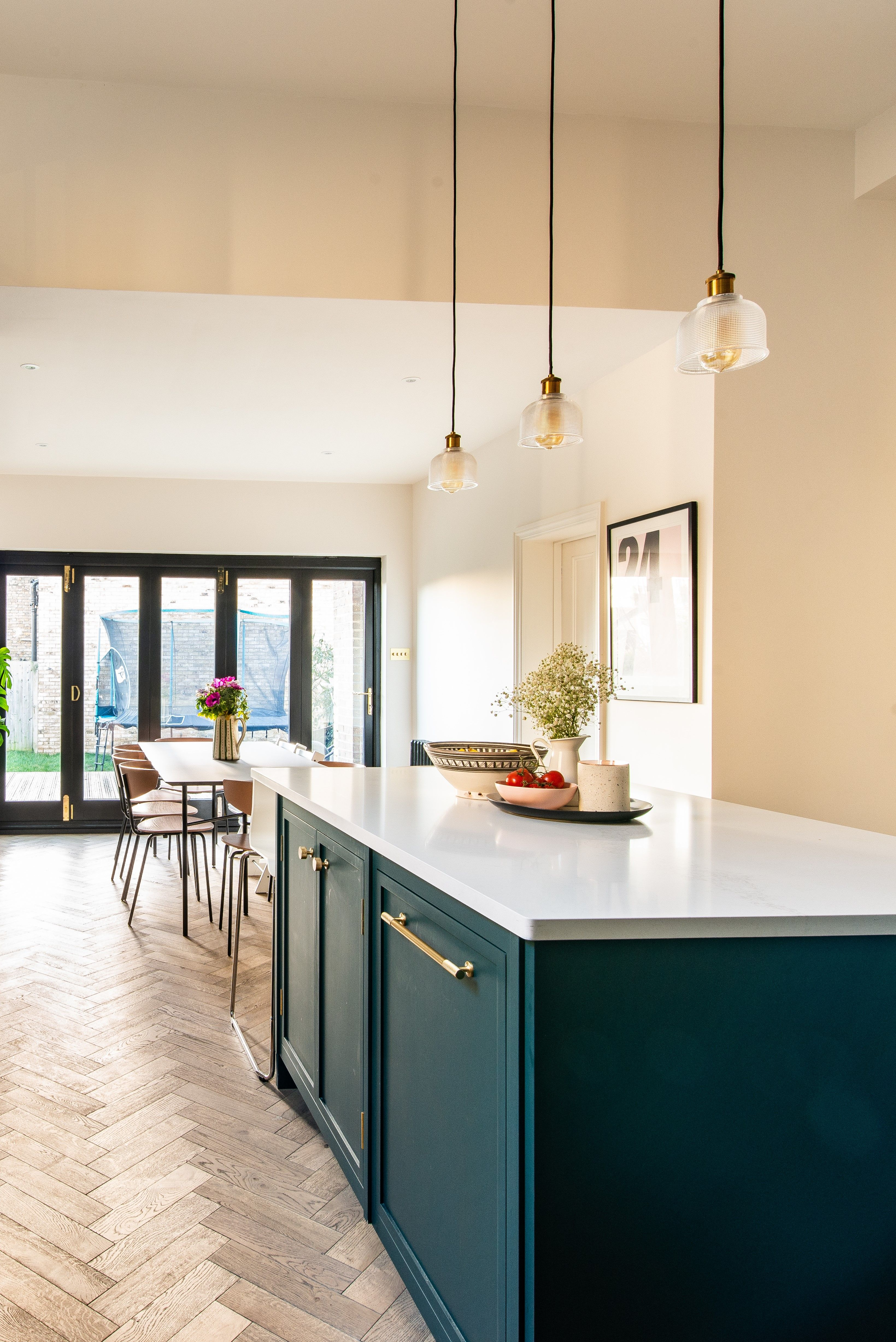 We Recently Designed And Fitted This Bespoke Kitchen For The Hooper Family Also Known As Mother Green Kitchen