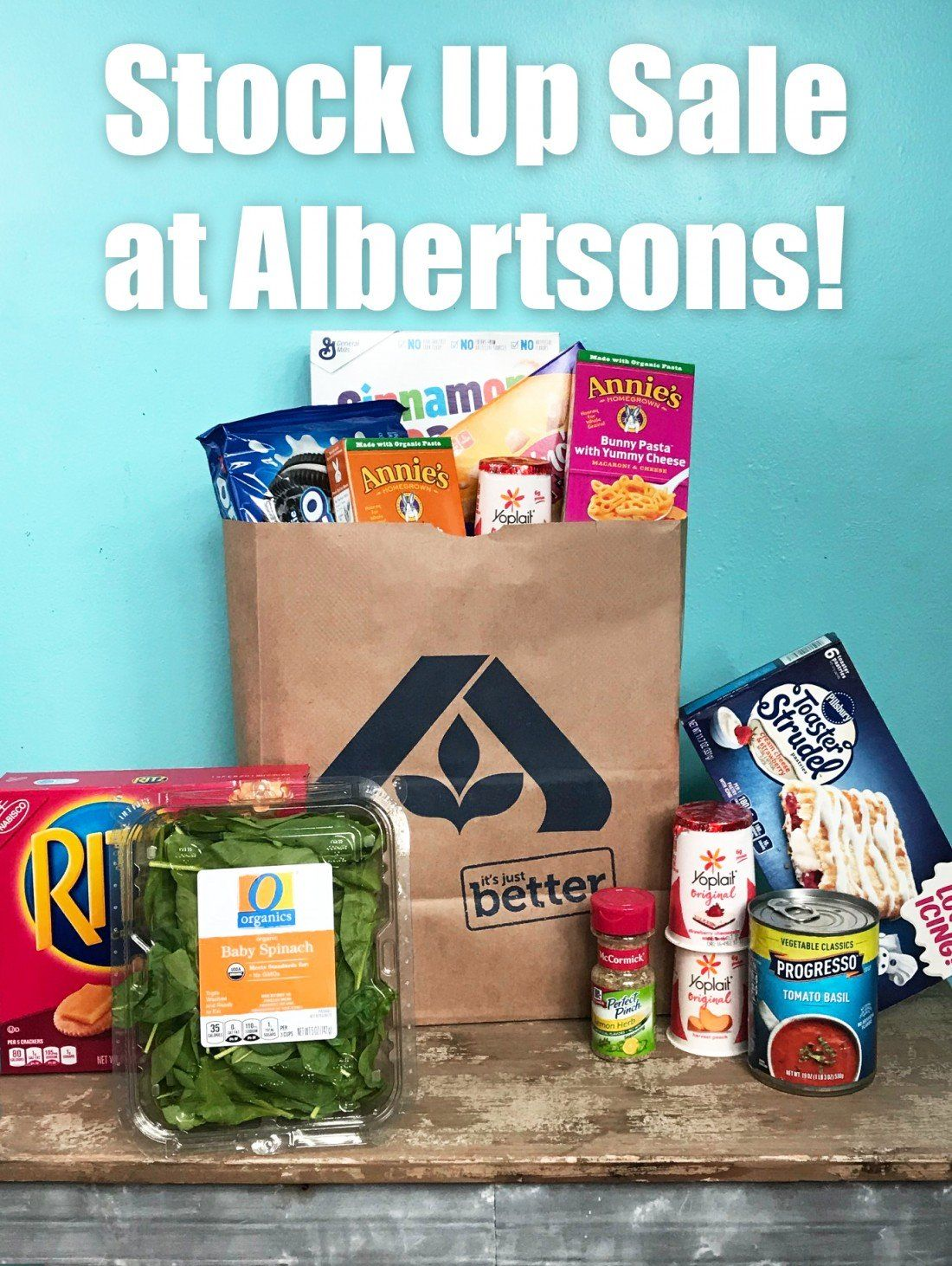 Stock Up Sale at Albertsons! Free groceries, Affordable