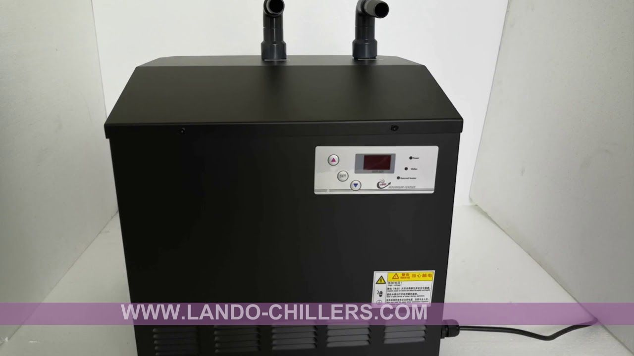 How does an aquarium chillers work chillers work by