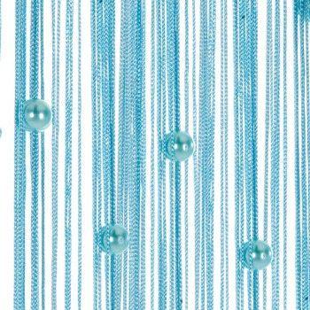 Türvorhang Ikea fadenvorhang fadengardine türvorhang perlen 90x250cm helena hellblau