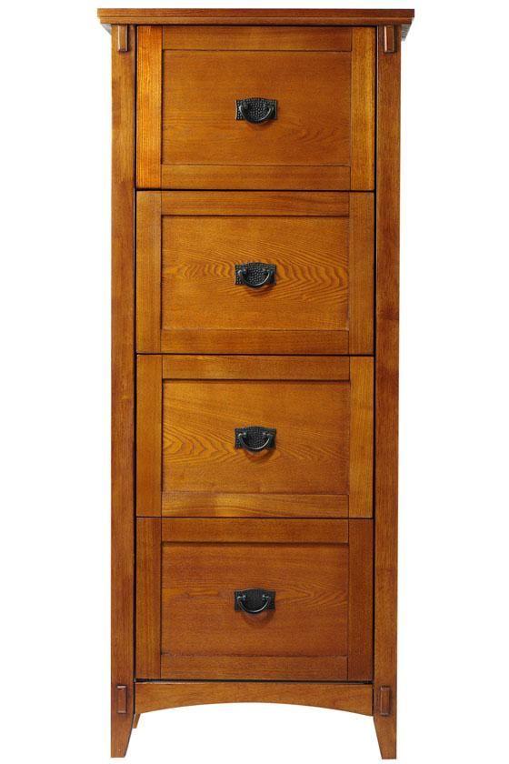 Tall Wood File Cabinet Filing Cabinet Wood File Craftsman