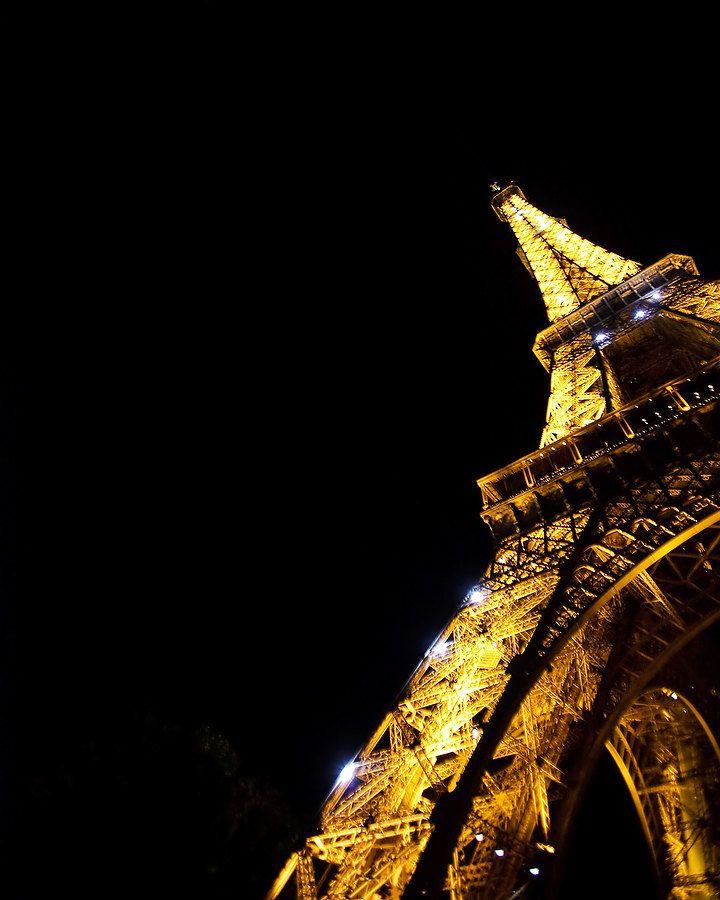Night Eiffel Tower Abstract Photo, Paris France Fine Art Print, Home Decor,  Paris