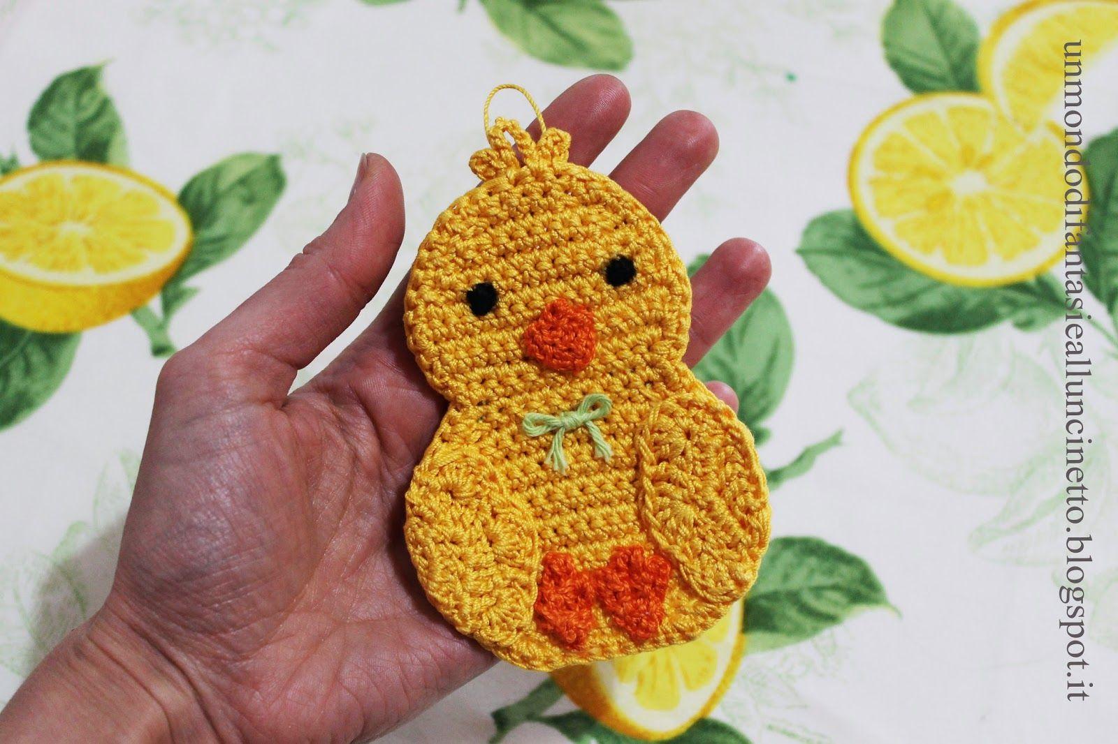 Presine Alluncinetto Per Pasqua Easter Crochet Pattern Free