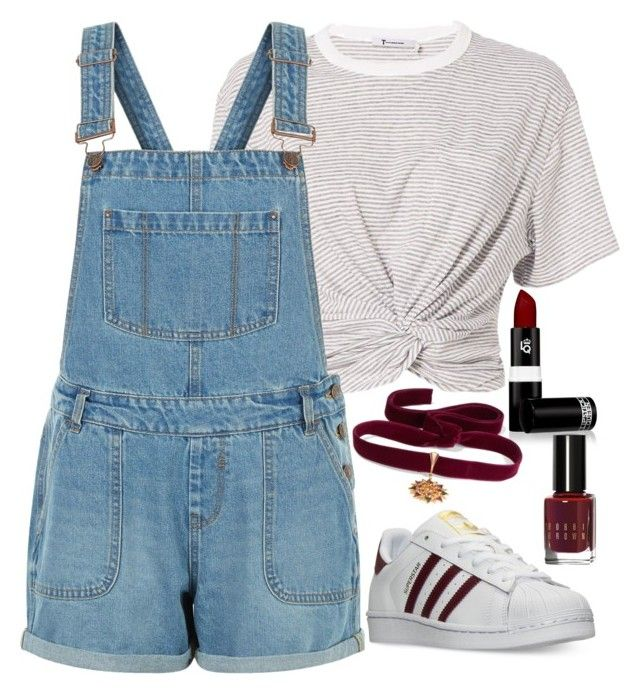 """Untitled #1622"" by mihai-theodora ❤ liked on Polyvore featuring T By Alexander Wang, New Look, adidas, Lipstick Queen, Diego Percossi Papi and Bobbi Brown Cosmetics"