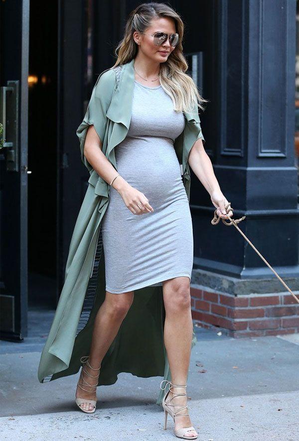 cade48dc9dfe Top 10 Looks of the Week | Celebs | Moda gravidez, Roupas de gravidez, Moda  gestante