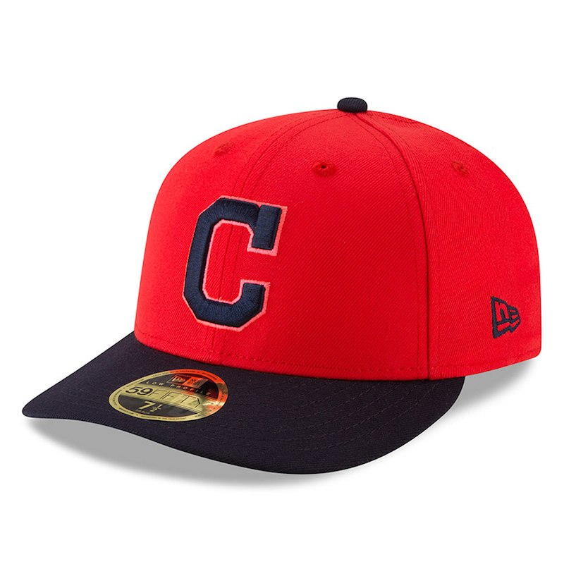 0cb4e5f7352 Cleveland Indians New Era 2018 Players  Weekend Low Profile 59FIFTY Fitted  Hat – Red Navy