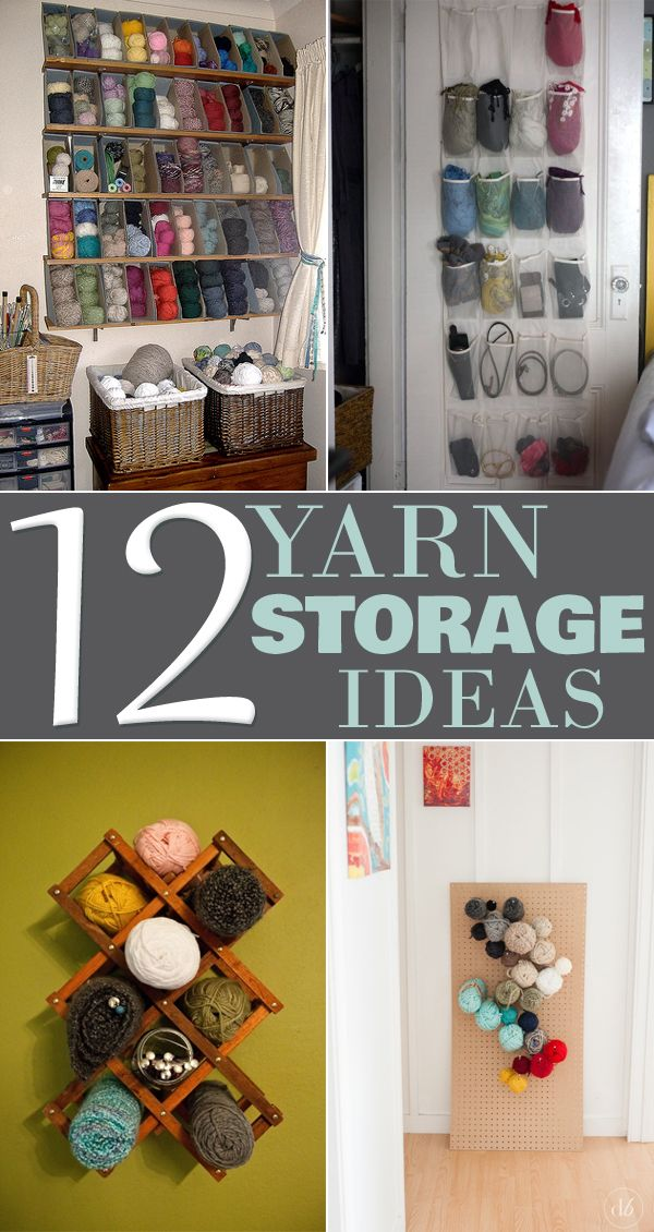 12 Clever Yarn Storage Ideas