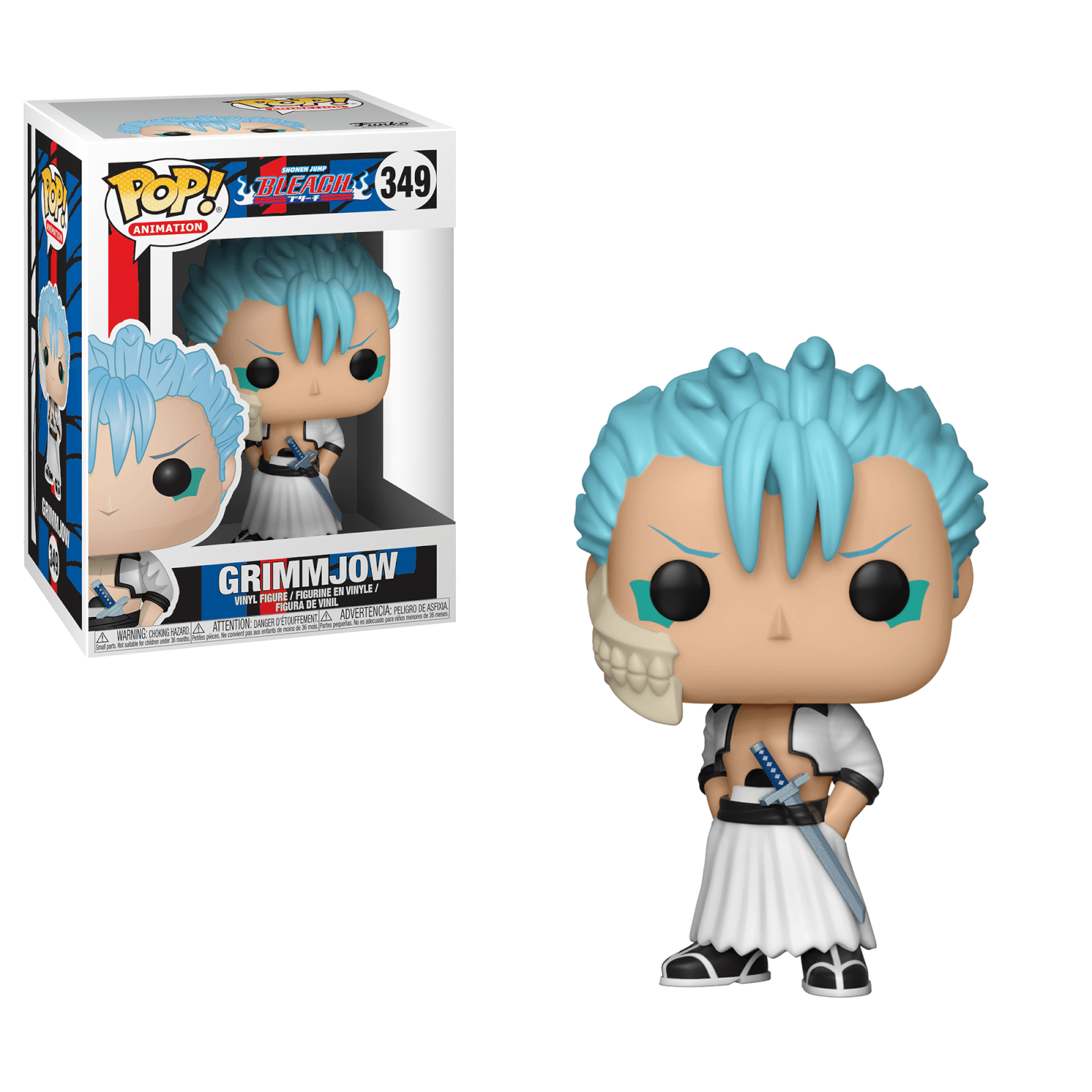 POP Animation Funko Bleach Renji Brand New In Box