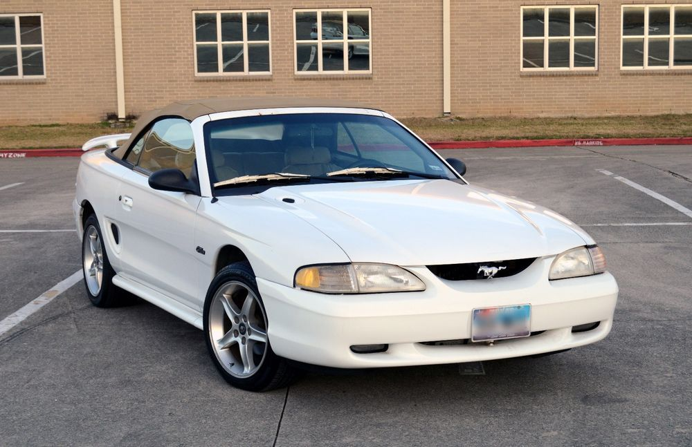 Ebay  1997 Ford Mustang 1997 Ford Mustang Gt Convertible
