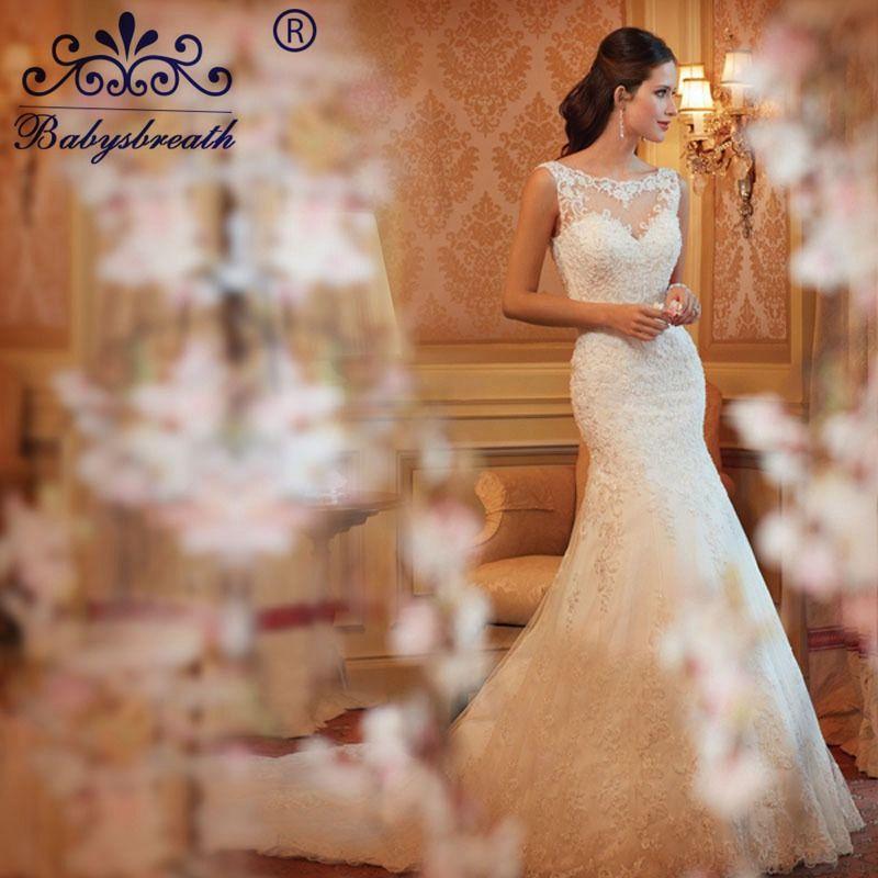 2017 Vestido De Noiva Casamento Louisvuigon Vestidos Black Friday Lace Mermaid Wedding Dress Sexy Bridal Gown