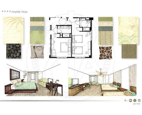 interior design porfolio student work paier college of
